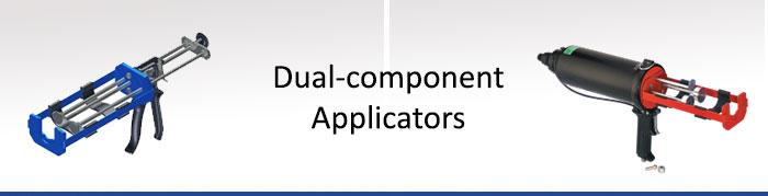 dual-component-applicators